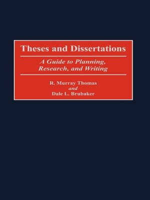 cover image of Theses and Dissertations