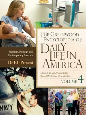cover image of The Greenwood Encyclopedia of Daily Life in America [4 volumes]