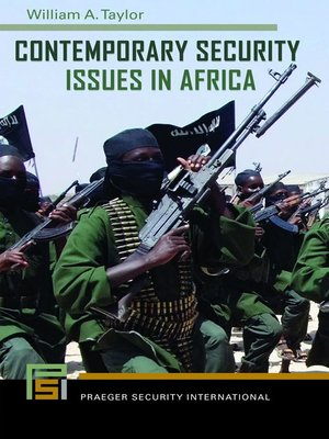 cover image of Contemporary Security Issues in Africa