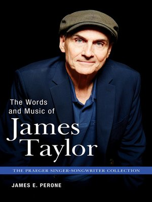 cover image of The Words and Music of James Taylor