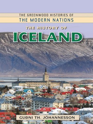 cover image of The History of Iceland