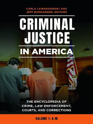 cover image of Criminal Justice in America