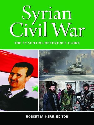 cover image of Syrian Civil War
