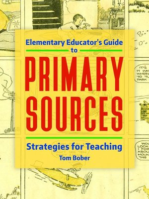 cover image of Elementary Educator's Guide to Primary Sources