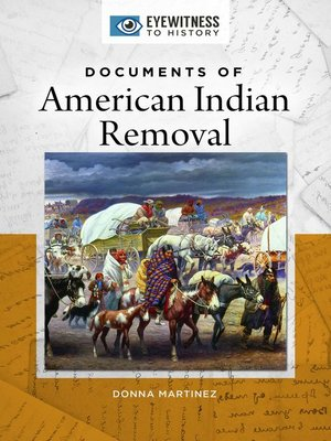 cover image of Documents of American Indian Removal