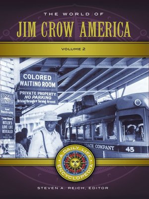 cover image of The World of Jim Crow America