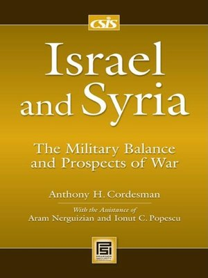 cover image of Israel and Syria