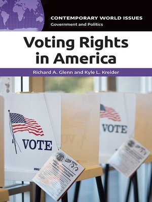 cover image of Voting Rights in America