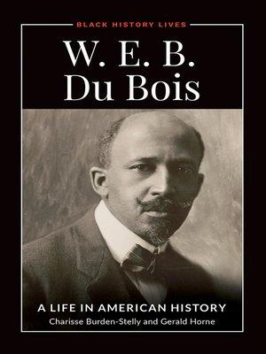 cover image of W.E.B. Du Bois