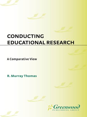 cover image of Conducting Educational Research