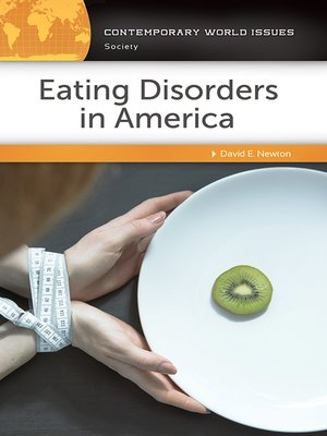 cover image of Eating Disorders in America