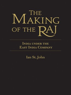cover image of The Making of the Raj