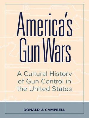 cover image of America's Gun Wars