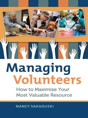 cover image of Managing Volunteers