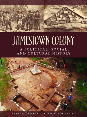 cover image of Jamestown Colony