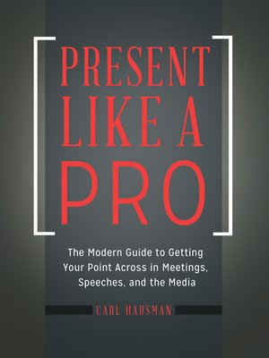 cover image of Present Like a Pro
