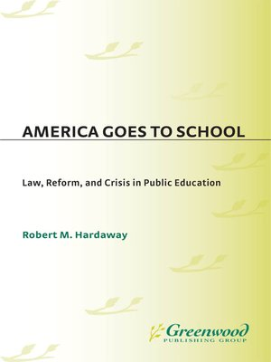 cover image of America Goes to School