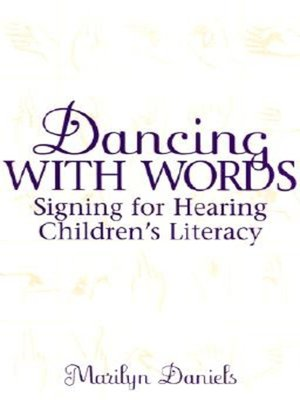 cover image of Dancing with Words