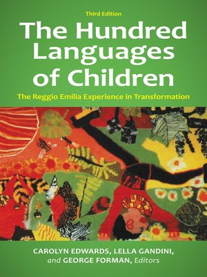 cover image of The Hundred Languages of Children
