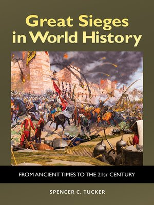 cover image of Great Sieges in World History