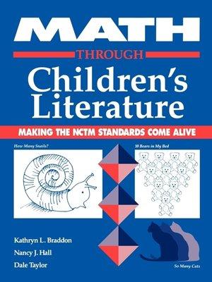 cover image of Math through Children's Literature