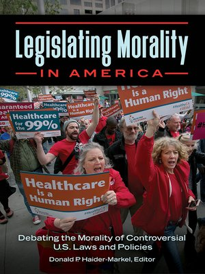 cover image of Legislating Morality in America