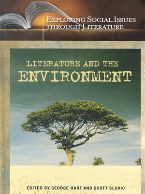 cover image of Literature and the Environment
