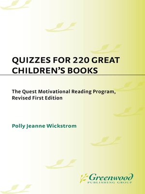 cover image of Quizzes for 220 Great Children's Books