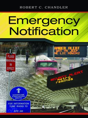 cover image of Emergency Notification
