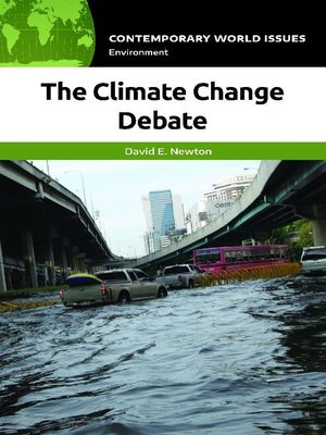 cover image of The Climate Change Debate