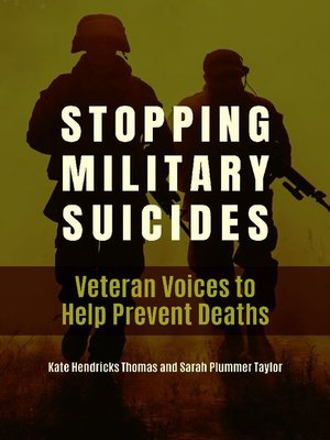 cover image of Stopping Military Suicides