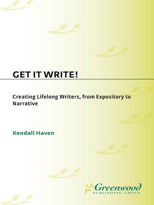 cover image of Get It Write!