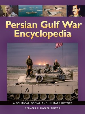 cover image of Persian Gulf War Encyclopedia