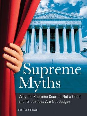 cover image of Supreme Myths