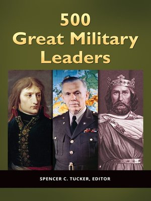 cover image of 500 Great Military Leaders [2 volumes]