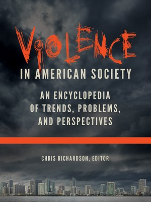 cover image of Violence in American Society