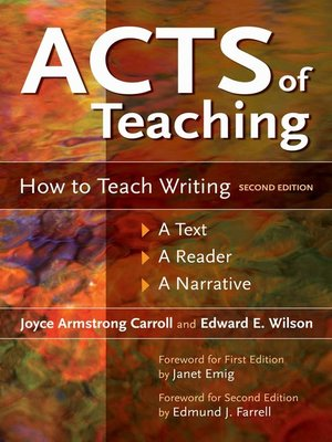 cover image of Acts of Teaching