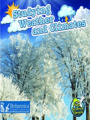 cover image of Studying Weather and Climates