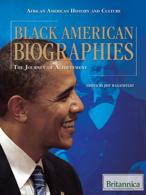 cover image of Black American Biographies