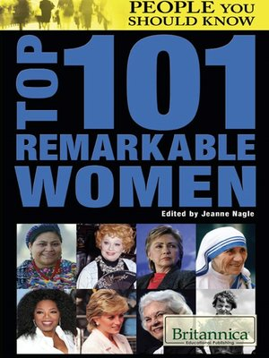 cover image of Top 101 Remarkable Women