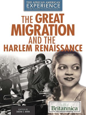 cover image of The Great Migration and the Harlem Renaissance