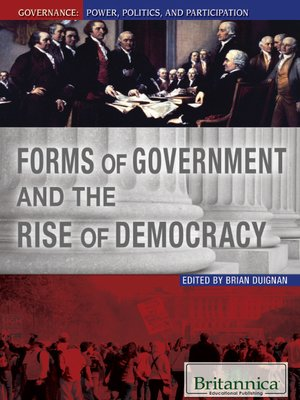 cover image of Forms of Government and the Rise of Democracy