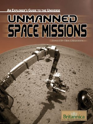 cover image of Unmanned Space Missions