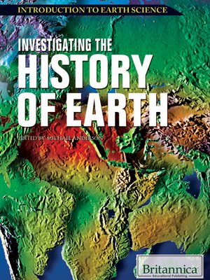 cover image of Investigating the History of Earth