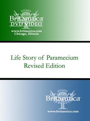 cover image of Life Story of Paramecium