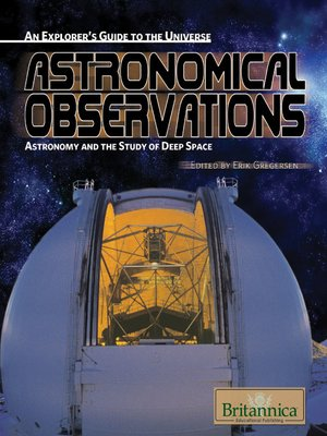 cover image of Astronomical Observations