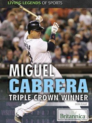 cover image of Miguel Cabrera