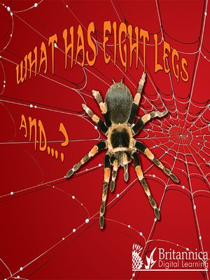 cover image of What Has Eight Legs and… ?