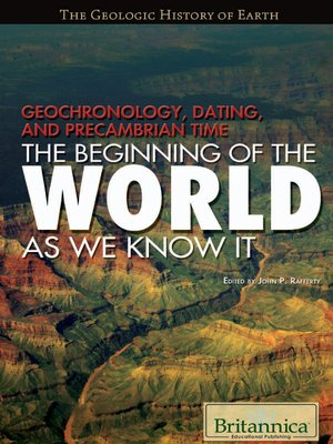 cover image of Geochronology, Dating, and Precambrian Time