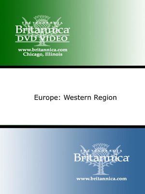 cover image of Europe: Western Region